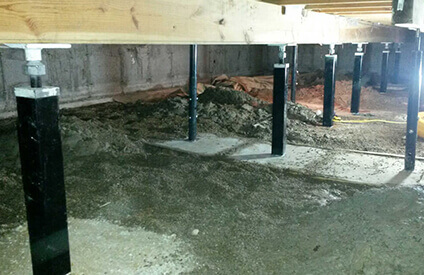 American Eagle Basement Waterproofing, Crawl Space, & Mold Control